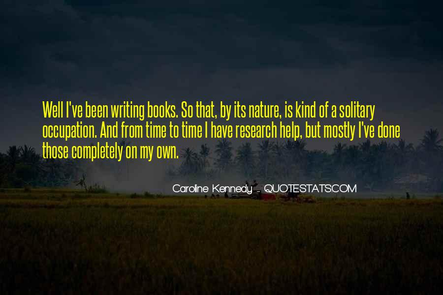 Quotes About Nature Writing #13843