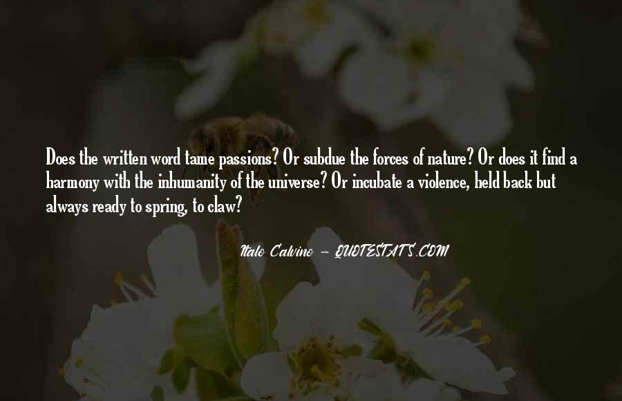 Quotes About Nature Writing #217666