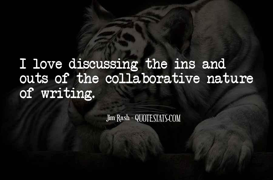 Quotes About Nature Writing #262982