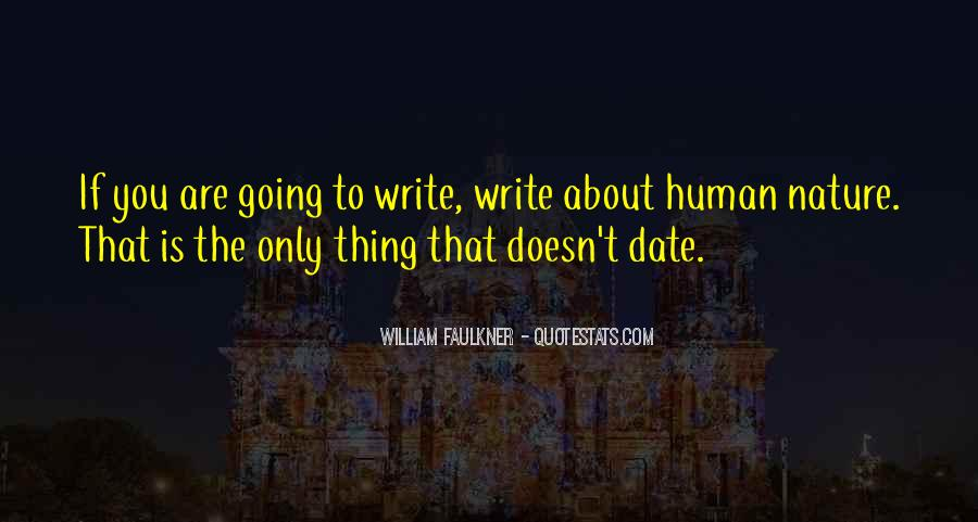 Quotes About Nature Writing #320809