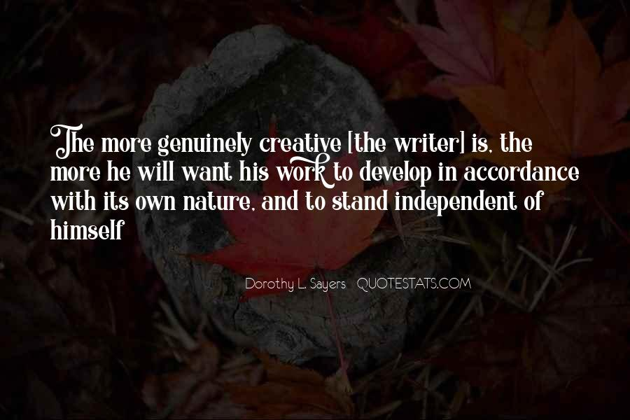 Quotes About Nature Writing #371800