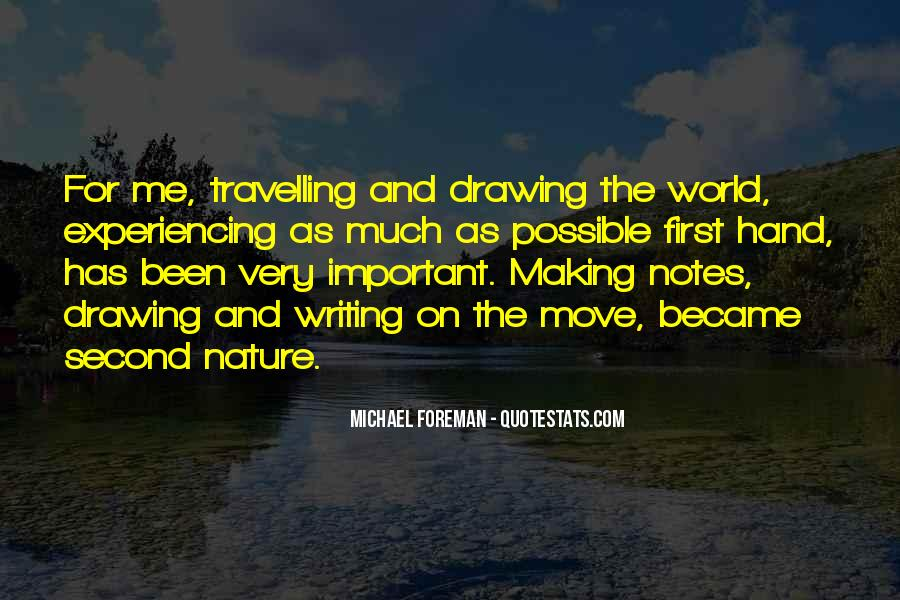 Quotes About Nature Writing #381239
