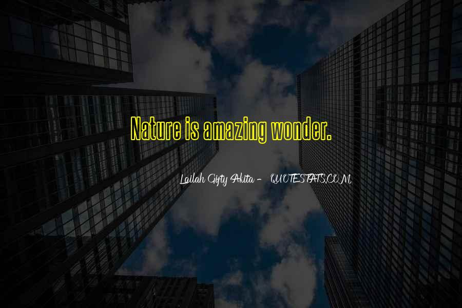 Quotes About Nature Writing #429677