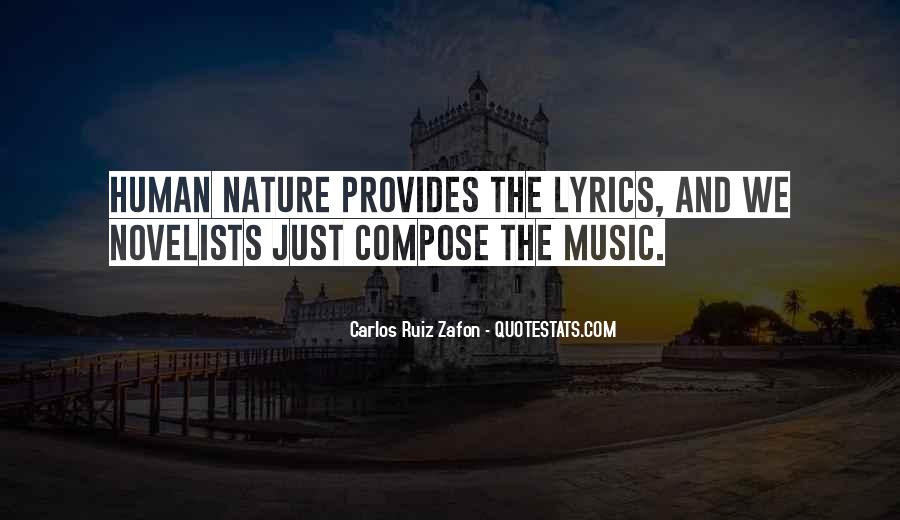 Quotes About Nature Writing #465352