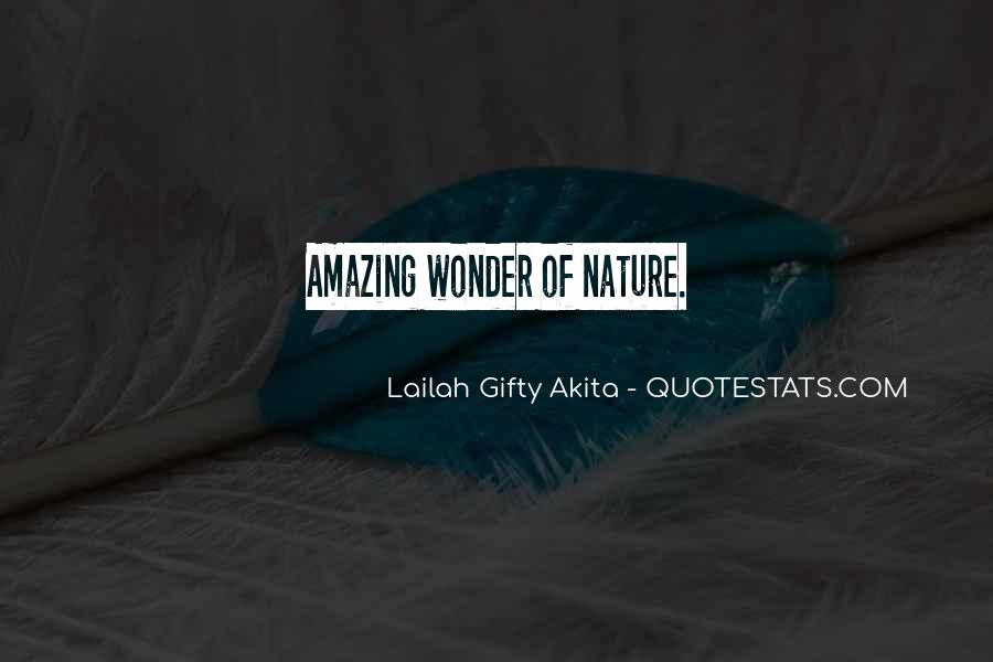 Quotes About Nature Writing #473572