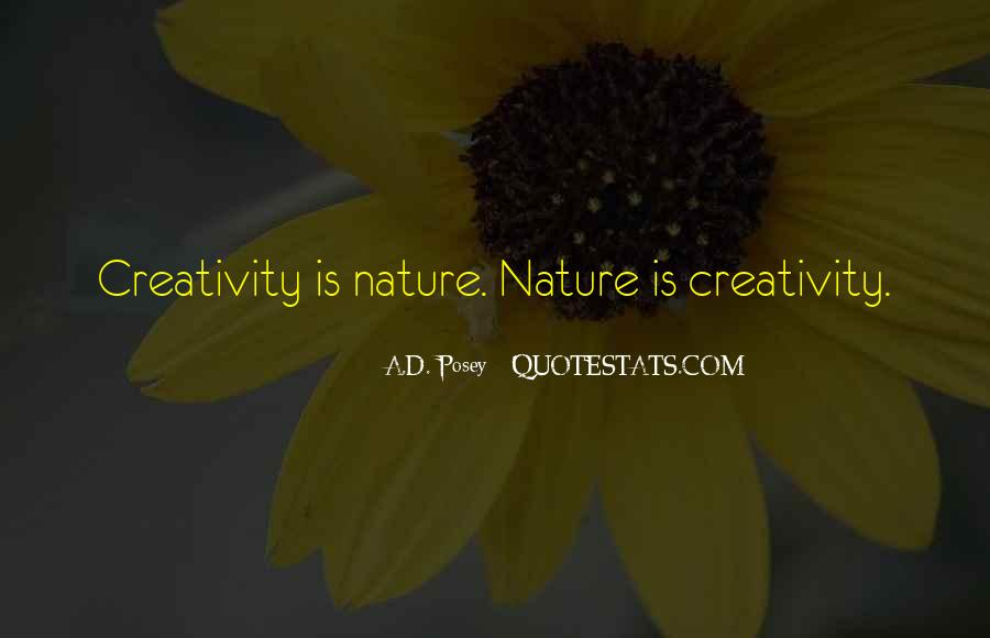 Quotes About Nature Writing #700177