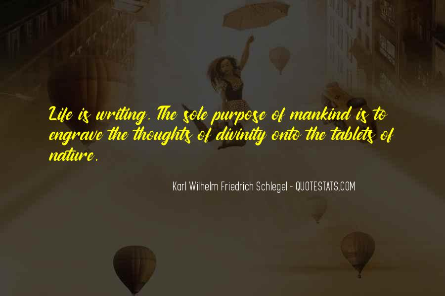 Quotes About Nature Writing #710629