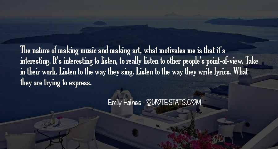Quotes About Nature Writing #795316
