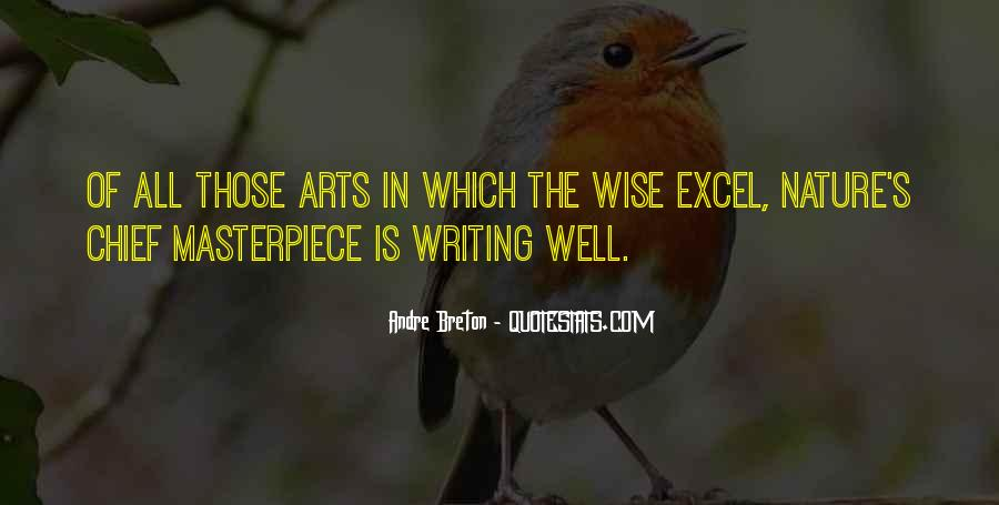 Quotes About Nature Writing #829629