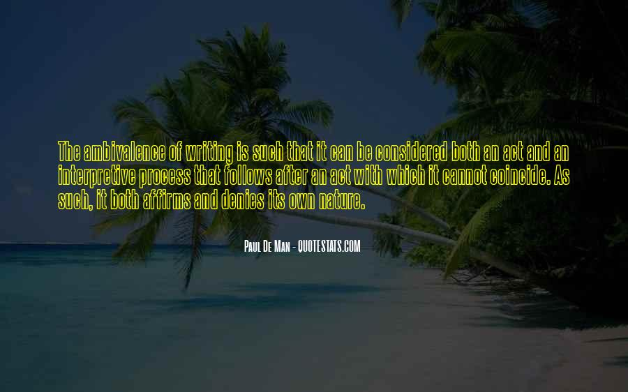 Quotes About Nature Writing #900679
