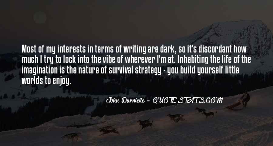 Quotes About Nature Writing #92612