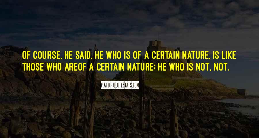 Quotes About Nature Funny #1316260