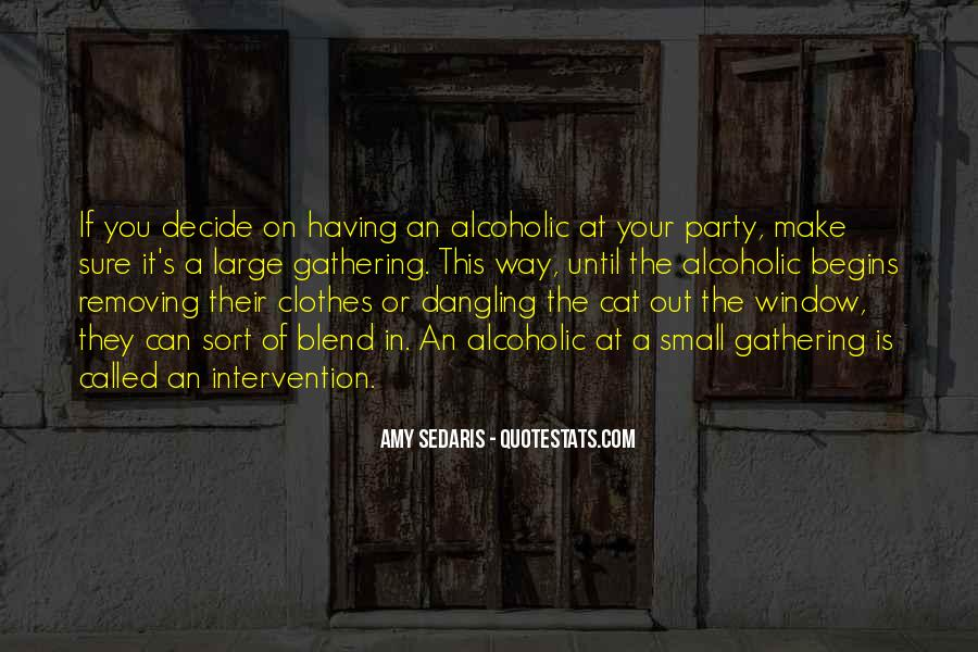 Alcoholic Drinking Quotes #64748