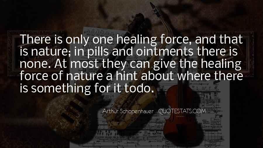 top quotes about nature and healing famous quotes sayings
