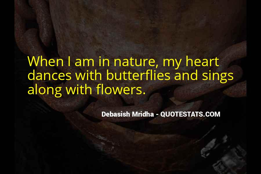 Quotes About Nature And Flowers #1642484