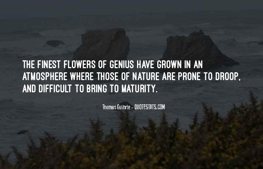 Quotes About Nature And Flowers #979709