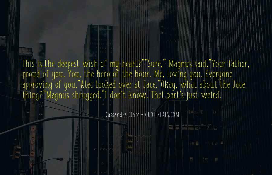 Alec Magnus Quotes #1858629
