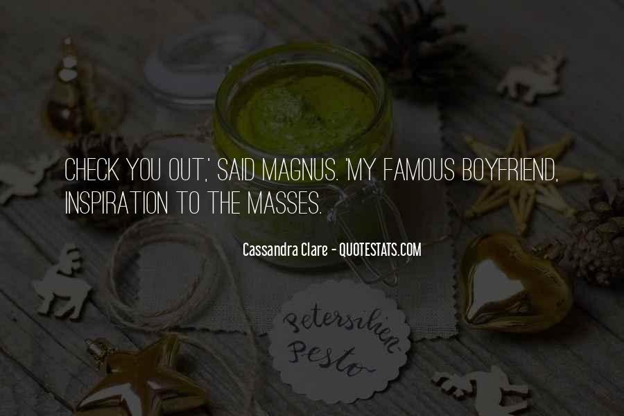 Alec Magnus Quotes #702870