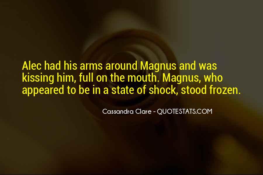 Alec Magnus Quotes #842127