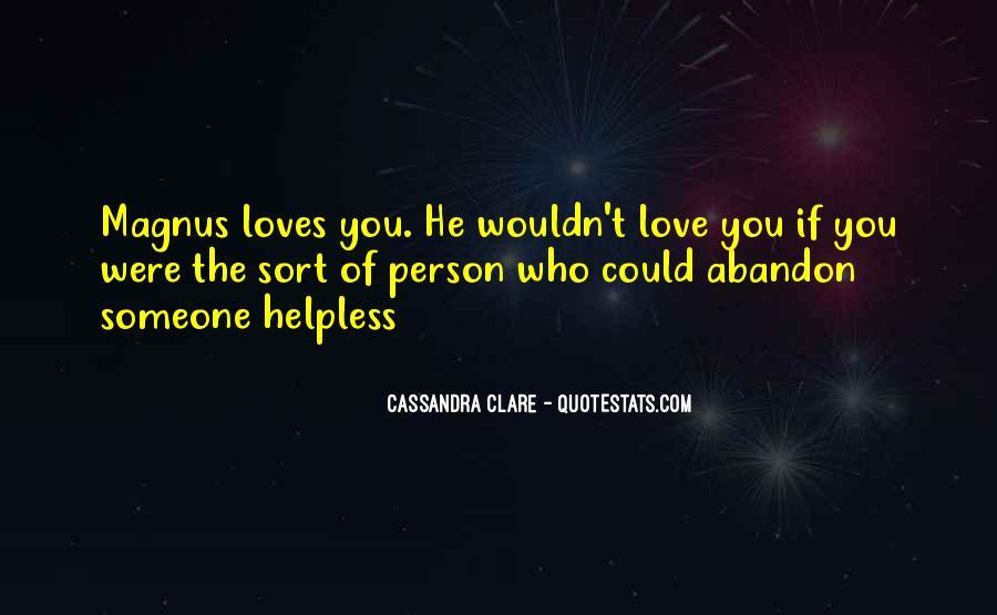 Alec Magnus Quotes #906359
