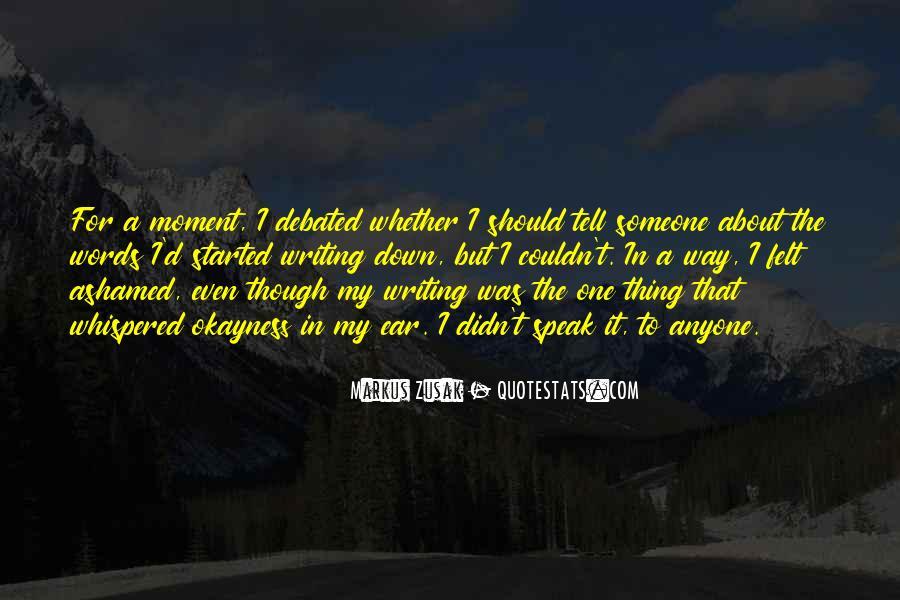 Alex Calderwood Quotes #1272398