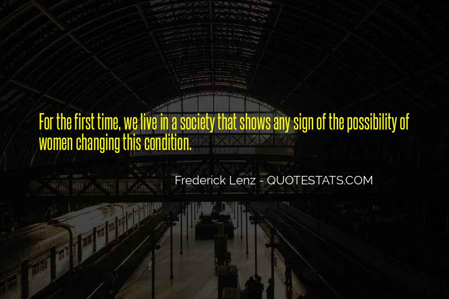 Quotes About Things Changing Over Time #17298