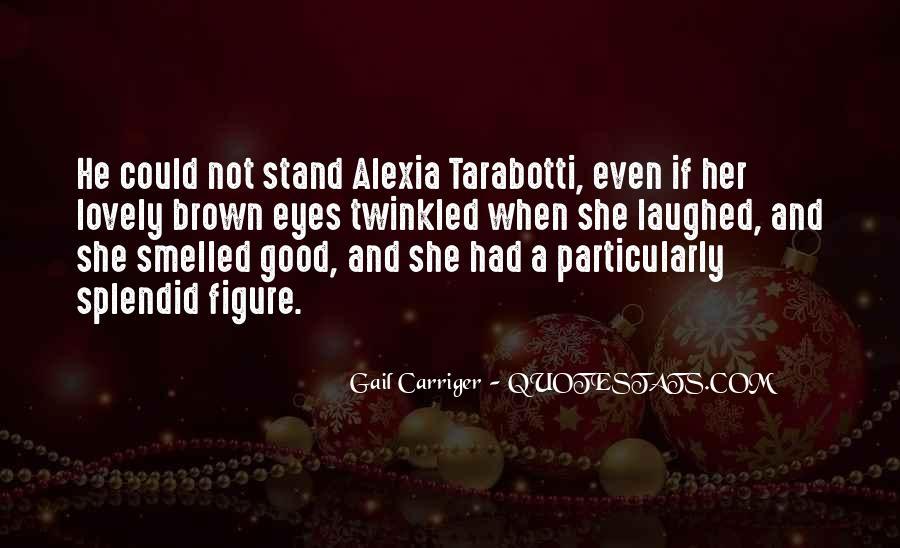 Alexia Tarabotti Quotes #205894