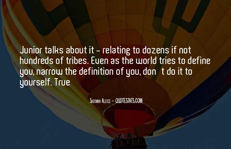 Alexie Sherman Quotes #119690