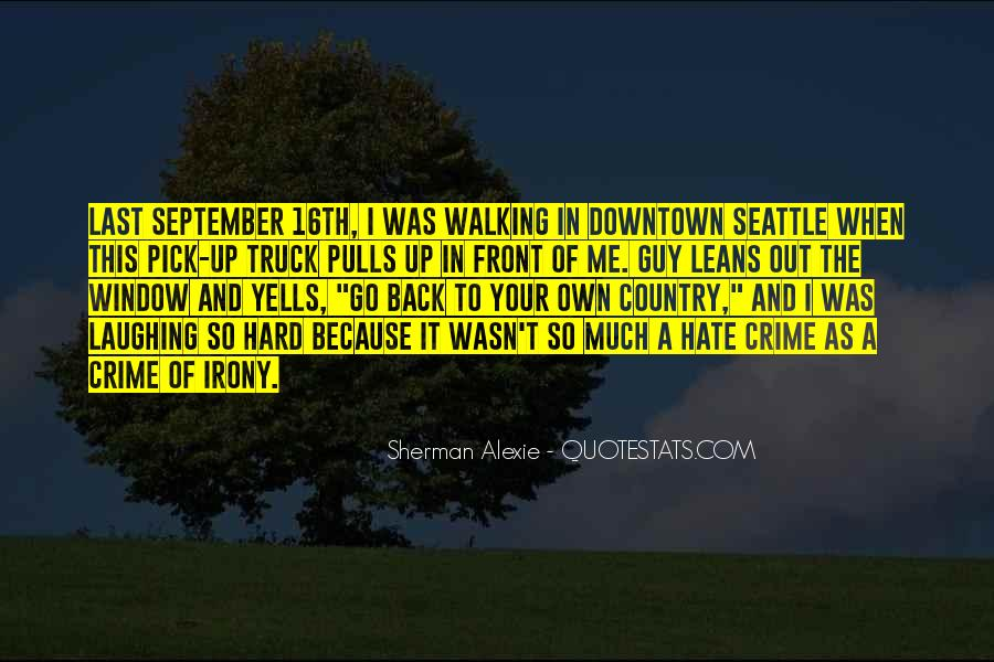 Alexie Sherman Quotes #134701