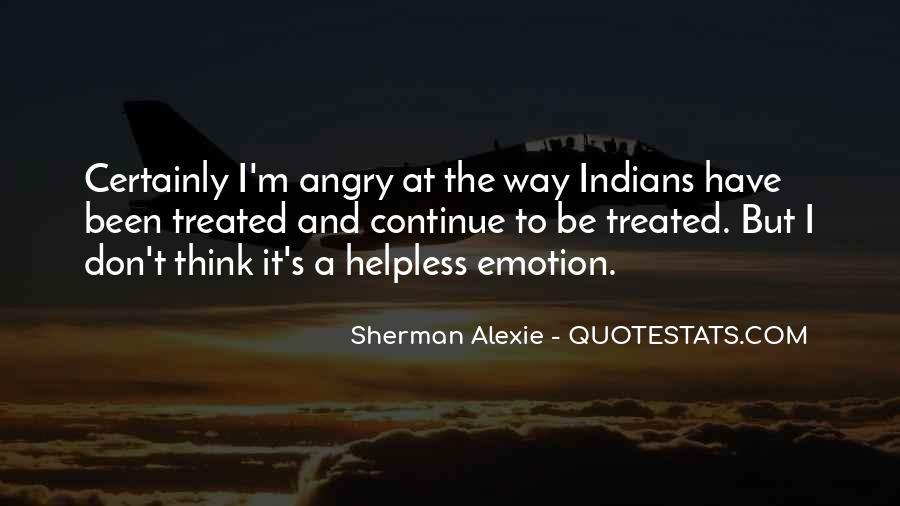 Alexie Sherman Quotes #157308