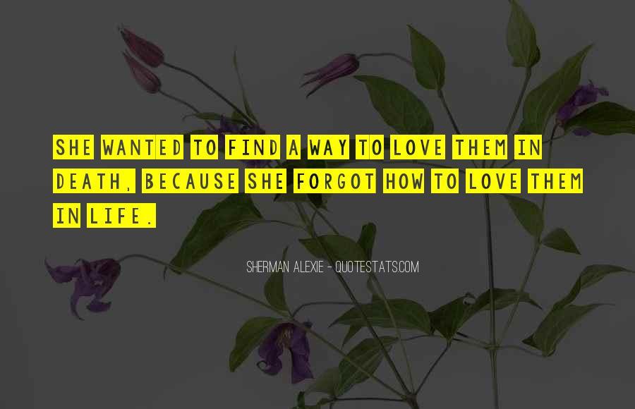 Alexie Sherman Quotes #228903