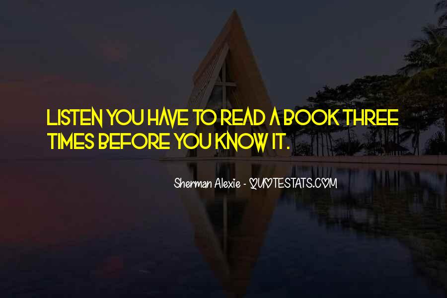 Alexie Sherman Quotes #237383