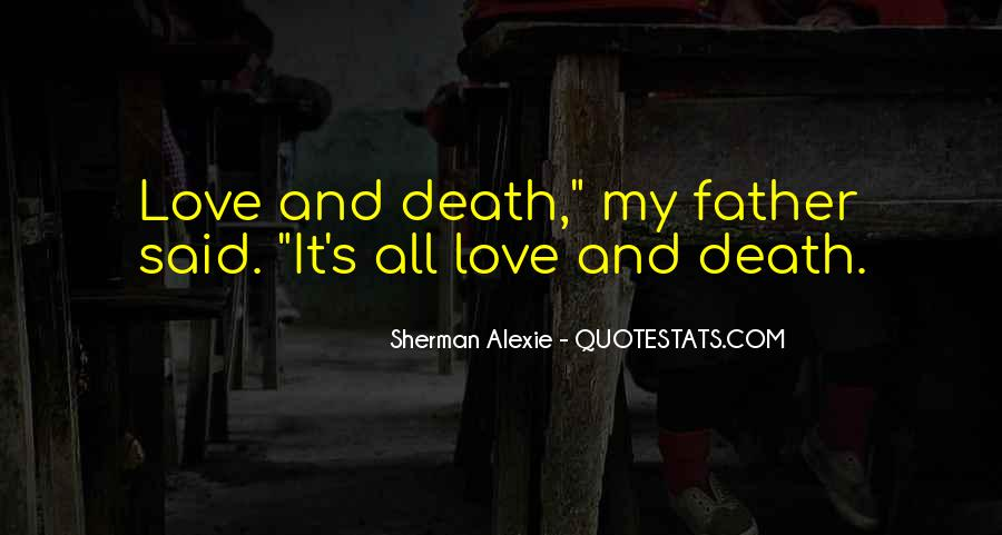 Alexie Sherman Quotes #259565