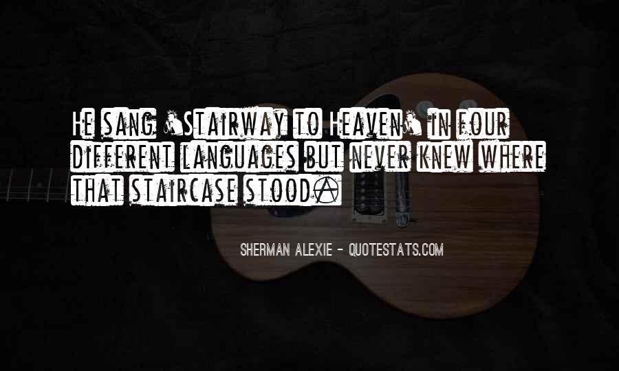 Alexie Sherman Quotes #366088