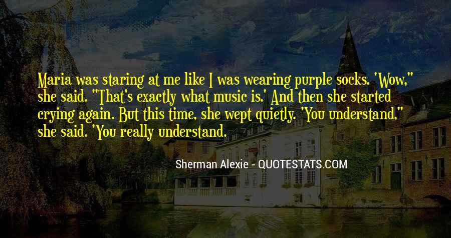Alexie Sherman Quotes #366127