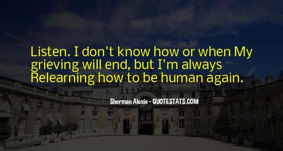 Alexie Sherman Quotes #410887