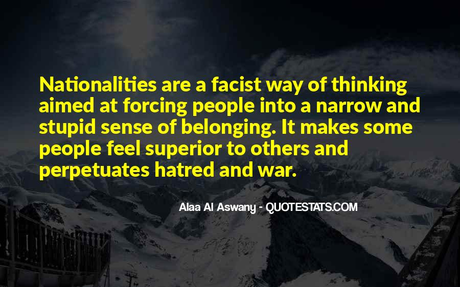 Quotes About Narrow Thinking #1017830