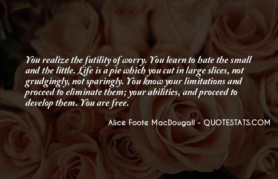 Alice Macdougall Quotes #229814