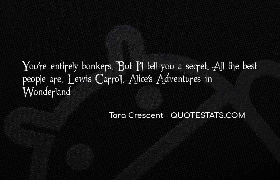 Alice's Adventures Wonderland Quotes #1401992