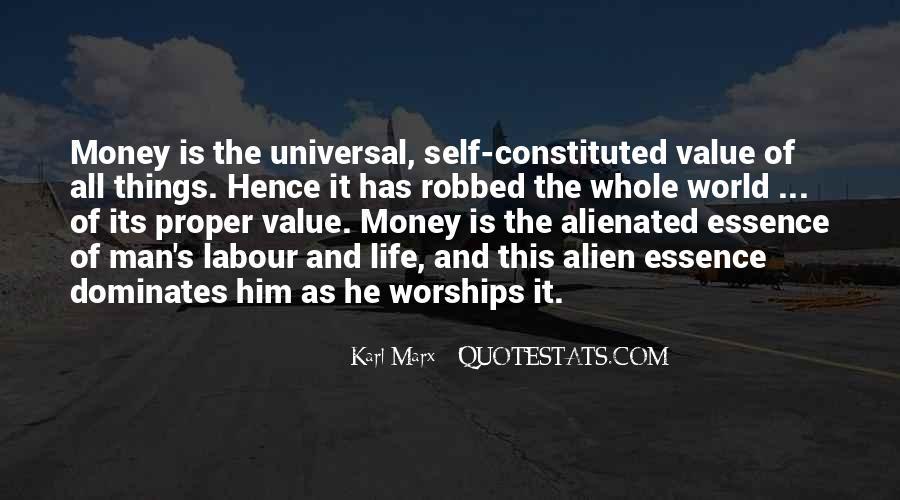 Alienated Labour Quotes #764195