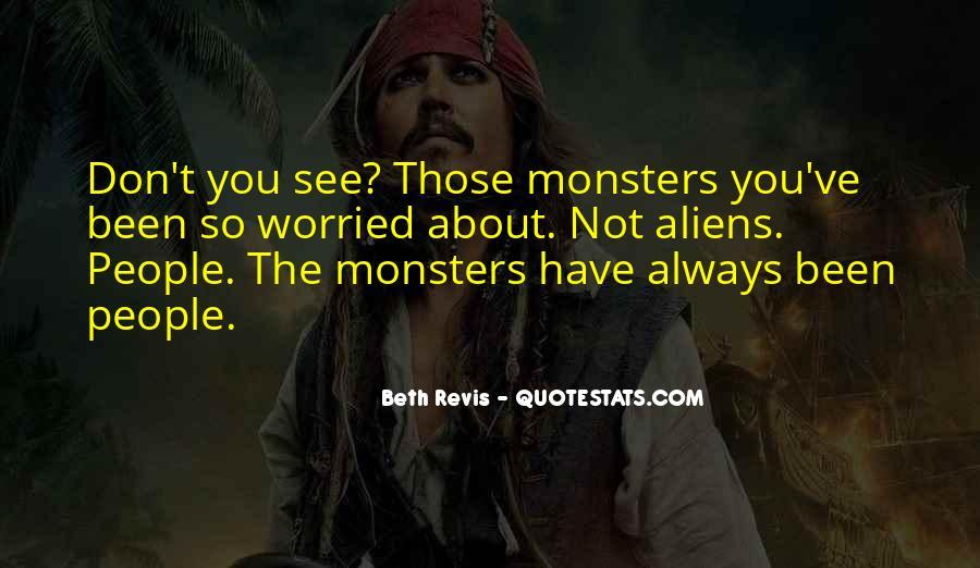 Aliens Vs Monsters Quotes #1461279