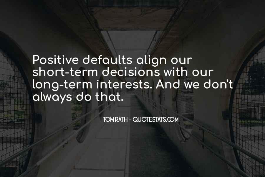Align Quotes #946707