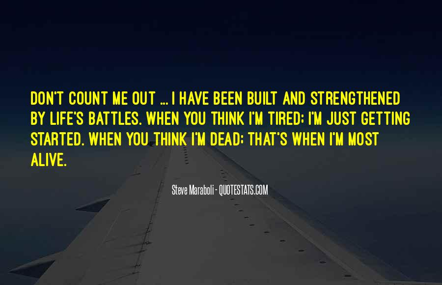 Alive And Dead Quotes #306707