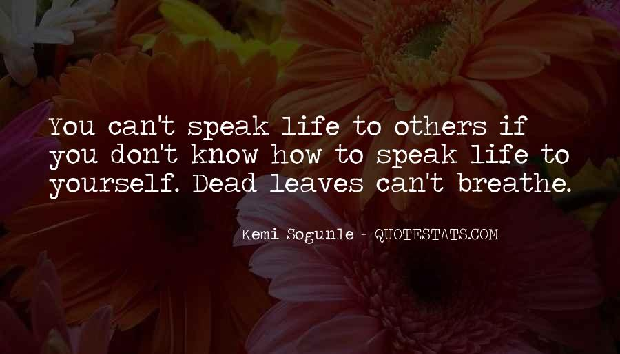 Alive And Dead Quotes #480962
