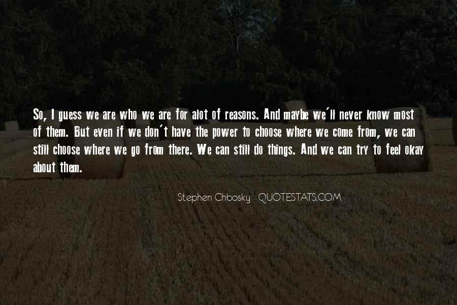 Quotes About Things Being Okay #1185687