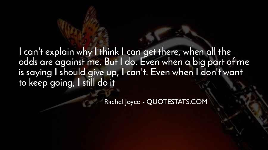All Against Odds Quotes #135433