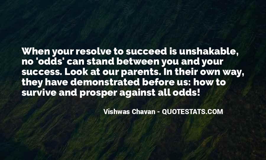 All Against Odds Quotes #657029