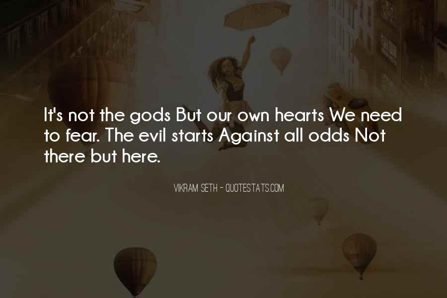 All Against Odds Quotes #800675