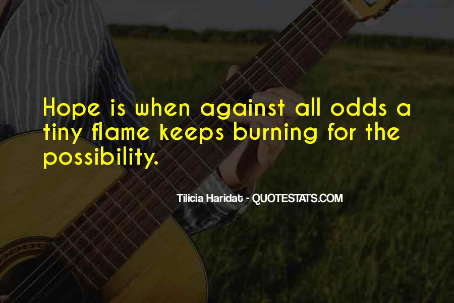 All Against Odds Quotes #999064