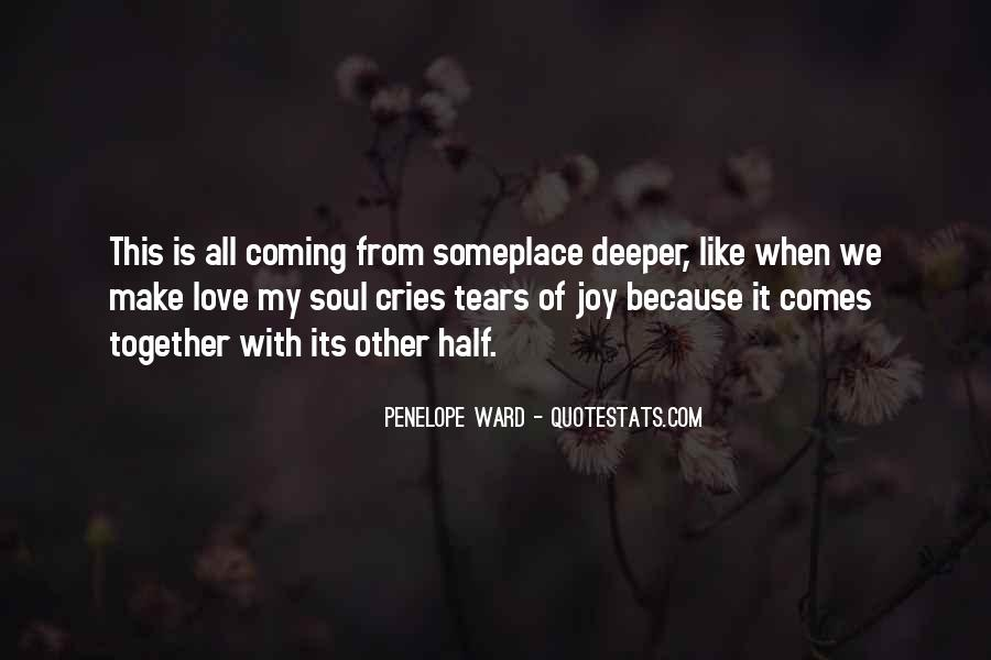 All Because Of Love Quotes #102582